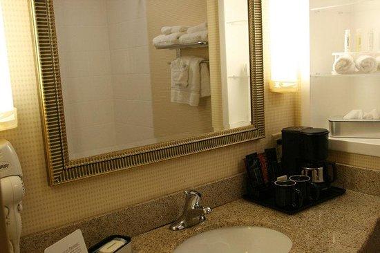 Holiday Inn Express Tower Center : Guest Room Bathroom