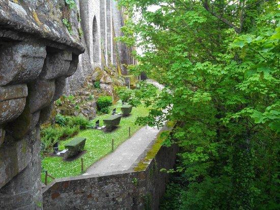 Abbaye du Mont-Saint-Michel : Jardin