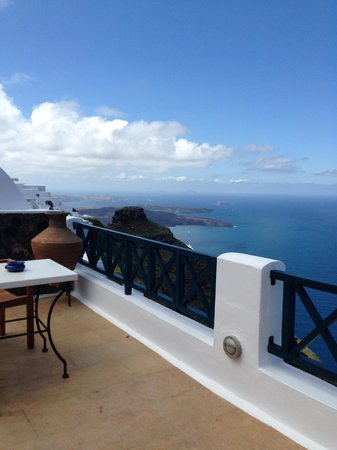 Afroessa Hotel: view from breakfast area
