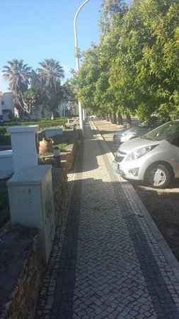 Vale de Carros: Walk way 2 all Appartments