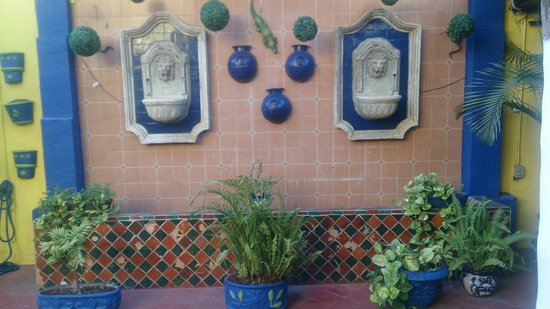 Hotel Mi Viejo Refugio: patio
