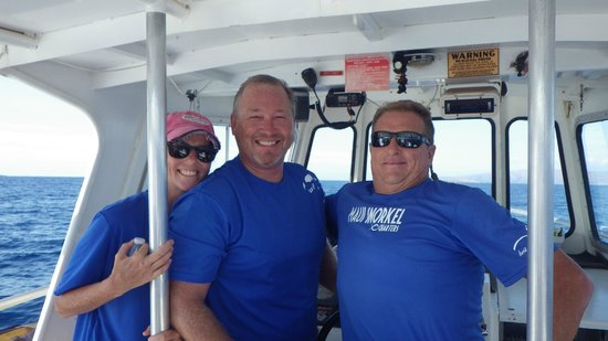 5aed879aac9c Here's the Crew, l to R Trish, Doug, and Captain Joe!! - Picture of ...