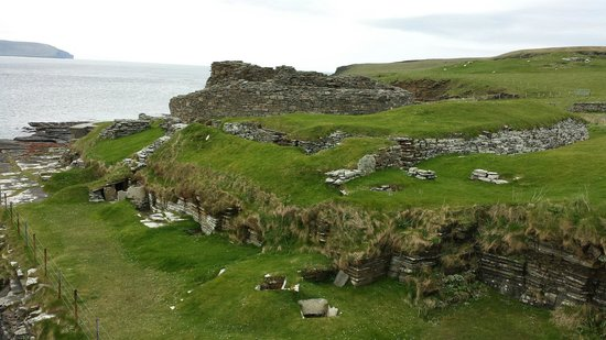 Rousay, UK: The broch