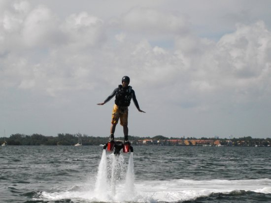 Miami Flyboard - FLYBOARD305 : Definitely checked this off my Bucket List!! ;)