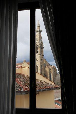 Plaza Lucchesi Hotel: Вид из моего номера ( view from my window)