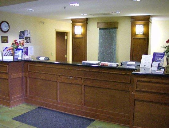 Holiday Inn Express Greenville: Lobby View