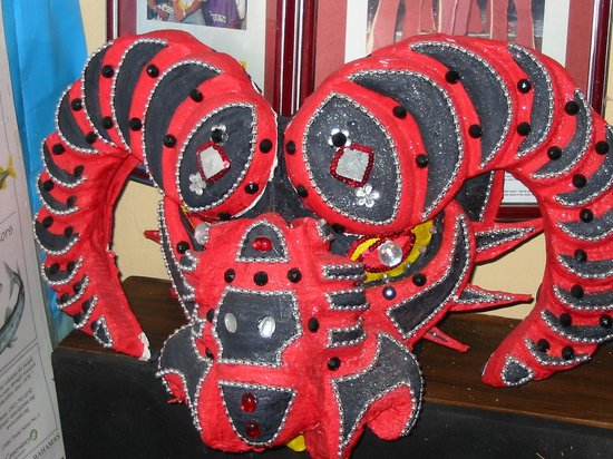 Grum Ma's House Cultural Center: Junkanoo Mask