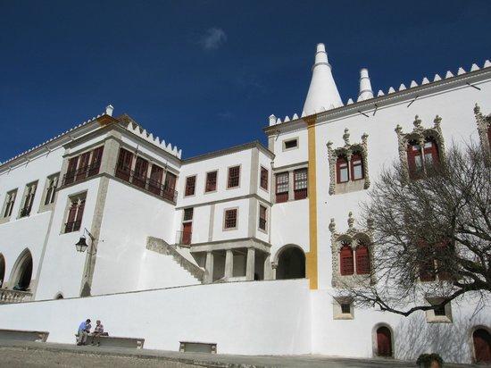 Palacio Nacional de Sintra: Exteriores