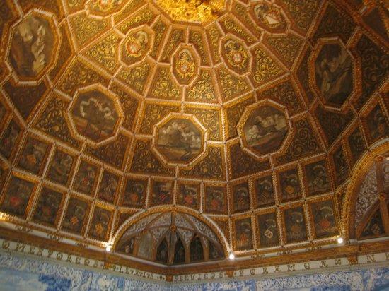 Palacio Nacional de Sintra: Detalle Sala dos Brasões