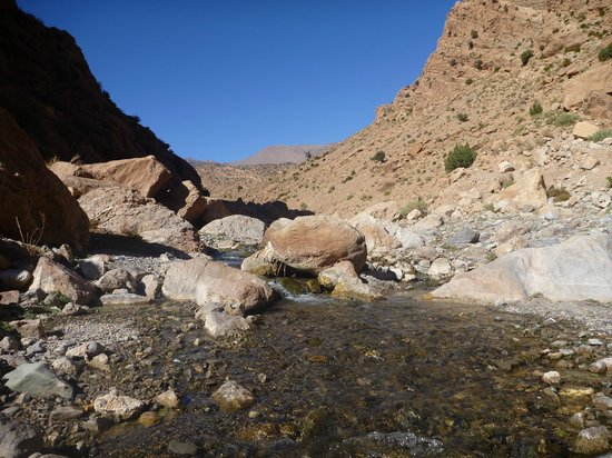 Sahara Atlas Tours -Day Tours : The river flows! The Mgoun Valley, Moroccan Atlas with Sahara Atlas Tours.