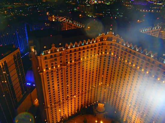 Eiffel Tower Experience at Paris Las Vegas : vista da torre