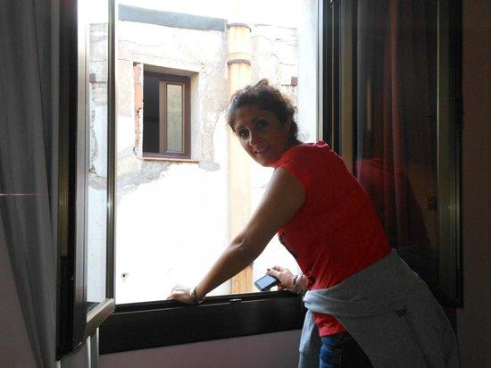 Hotel Cuatro Naciones: che vista!