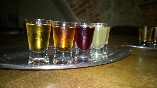 Chmiel Beer Pub: Vodka-tasting