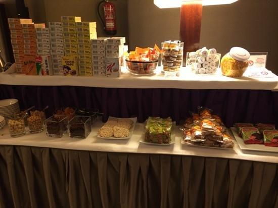 Hotel Casa Fuster: Sección dietética y productos sin gluten
