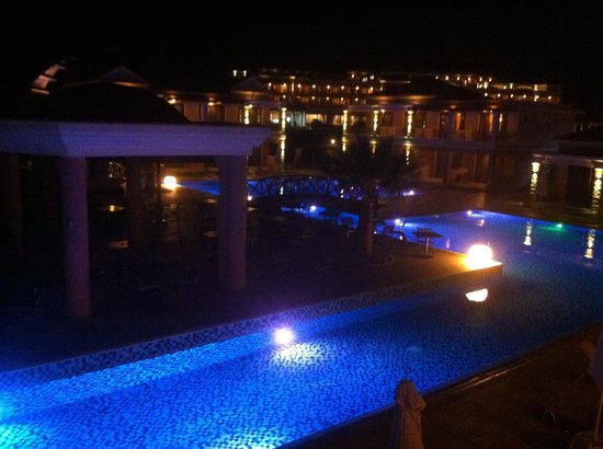 La Marquise Luxury Resort Complex: View at night