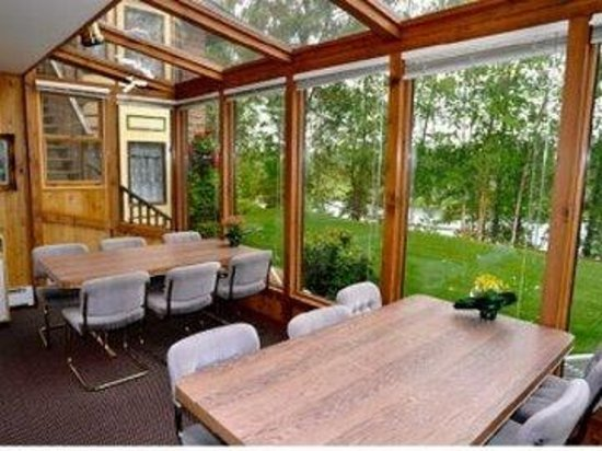Alaska Fishing Lodge - Soldotna Bed and Breakfast Lodge: Solarium