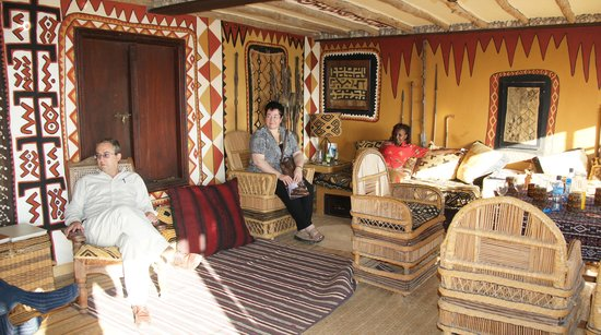 Inside the African Heritage House