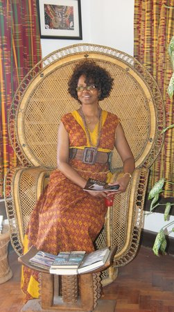 African Heritage House: Mildred Owiti, one of the Models for the African Heritage Festival in the 80's