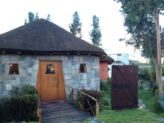 Hosteria & Spa Tradicion Colca: L'entrée de l'hôtel