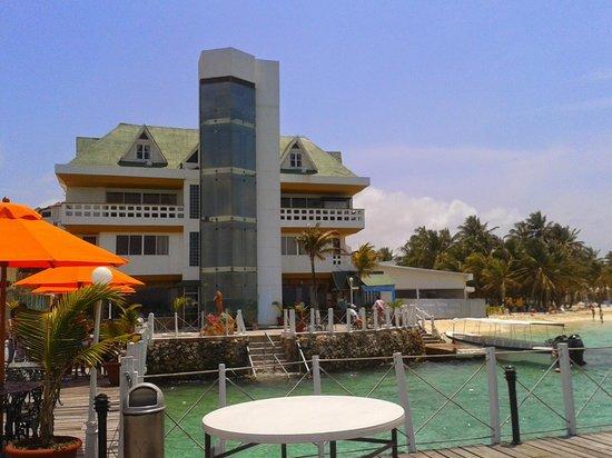 Hotel Lord Pierre. Vista desde el muelle.