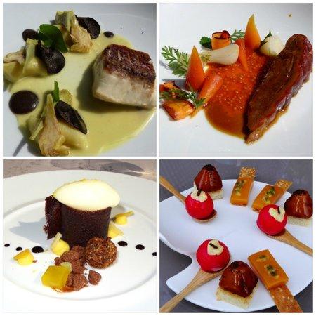 La Villa Madie: menu dégustation