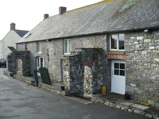 O'Briens Cashel Lodge: Retro cucina