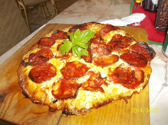 Hotel Club Kawama: pizza chez Kiki's