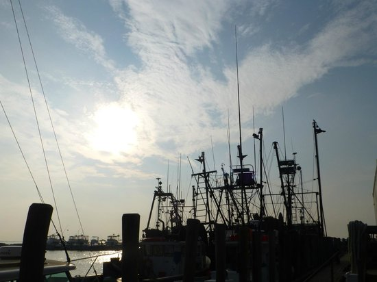 Larsen's Fish Market: View from the dock