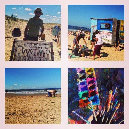 Playa VIK Jose Ignacio: Beach fun/Art on the Beach