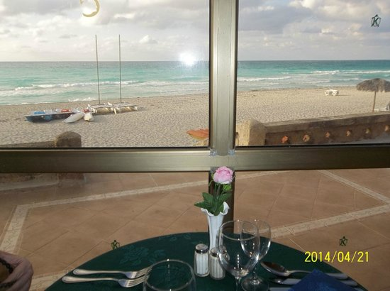 Hotel Club Kawama: vue du buffet