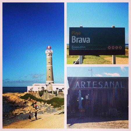 Playa VIK Jose Ignacio: Light house on Playa Brava