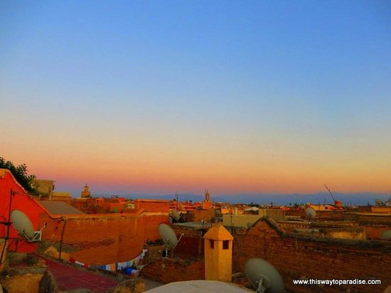 Riad Camilia: Rooftop View