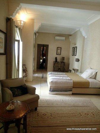 Riad Camilia: Bedroom
