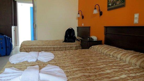 Hotel Katerina: Interior of Room 317