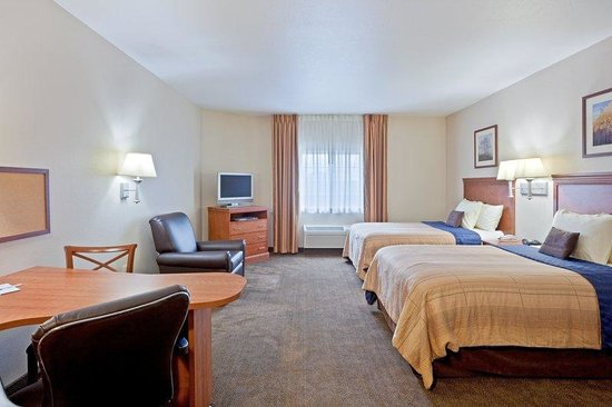 Candlewood Suites Boise: Double Bed Guest Room