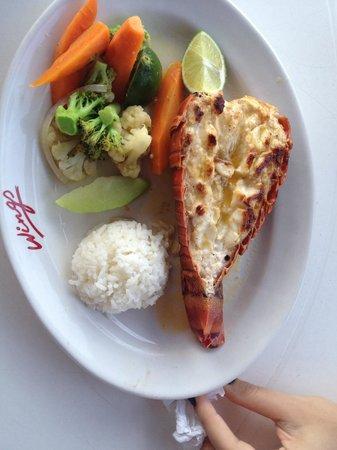 Restaurante Los Pampanos : Langosta