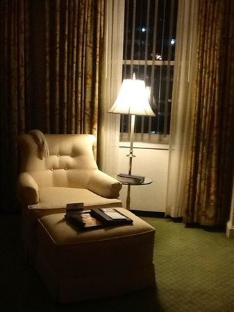 The Fairmont Olympic Seattle : delhxe king room