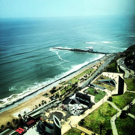 JW Marriott Hotel Lima: View from room.