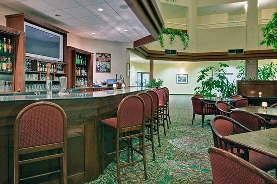 Holiday Inn Montreal Longueuil : The Atrium Lounge - perfect place to relax