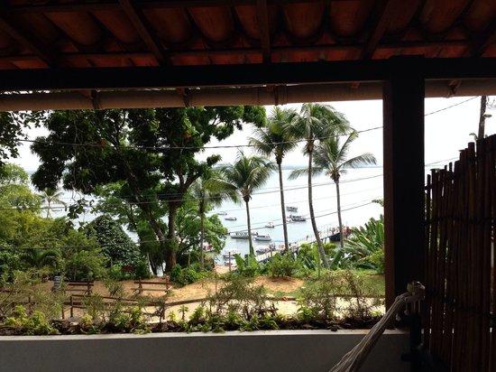 Hotel Pousada Natureza: Vista da varanda do quarto 8