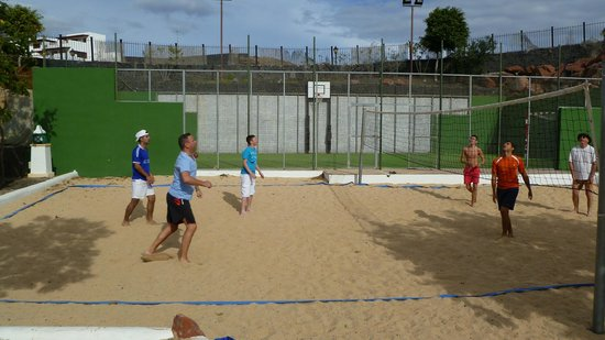 Dream Gran Castillo Resort: Beach Volleyball - next to the five-a-side pitch.