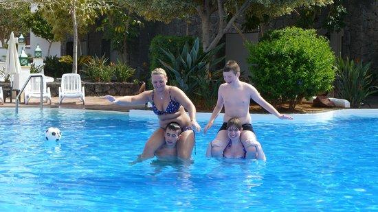 Dream Gran Castillo Resort: Family Pool Area - furthest away - but the best.