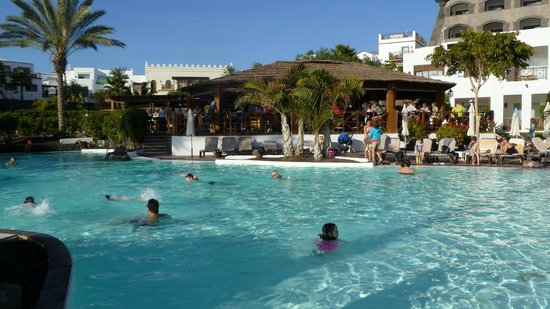 Gran Castillo Tagoro Family & Fun: Main Pool Area & Bar.