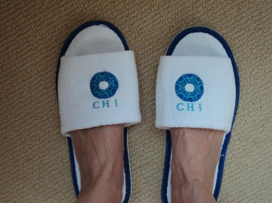 CHI Residences 314: Cute slippers