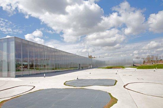 Louvre-Lens : Het gebouwen complexs