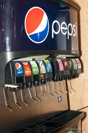 We serve Pepsi products including Gatorade, Brisk Tea, and ... Golden Corral