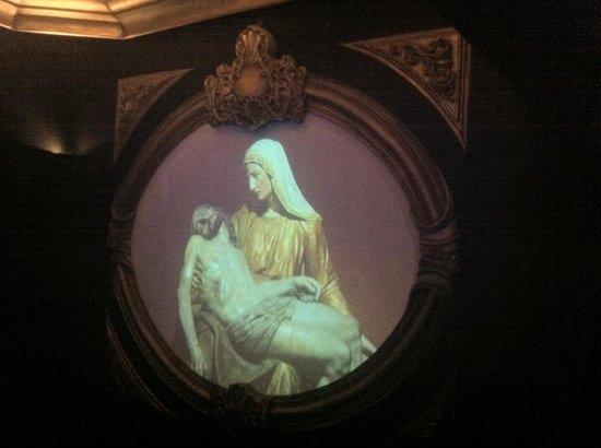Memorial Minas Gerais – Vale: Cuidadosos detalhes para encantar os visitantes. Não é um quadro, mas um video com belas imagens