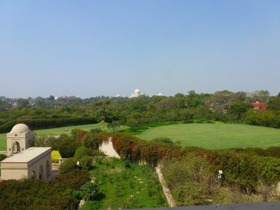 The Oberoi Amarvilas : View from balcony