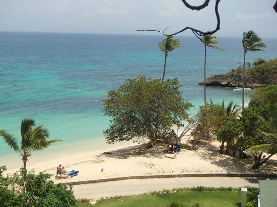 Luxury Bahia Principe Cayo Levantado: view from our balcony