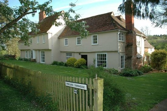 Stoke by Nayland B&B Poplars Farmhouse: Farmhouse View